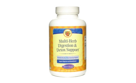 Nature's Secret Multi Herb Digestion and Detox Support Economy Diet Supplement, 275 Tablets