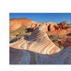 Pierre Leclerc Valley of Fire Wave Canvas Print