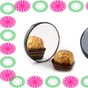 Compact 10x Magnifying Mirror Ideal For Applying Make-Up