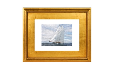 Set sail - Framed fine art