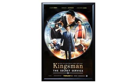 Kingsman The Secret Service - Cast Signed Movie Poster Framed 1a185a7b-9663-4ab4-974f-10add8925a6a
