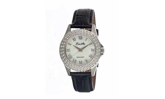 Groupon Goods: Bertha Br701 Audrey Ladies Watch