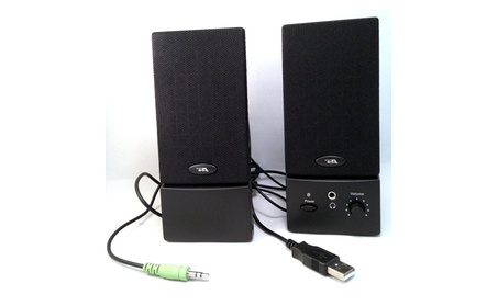 Cyber Acoustics Computer Loud Speaker System 2.0-channel 468eab80-8f2e-40bc-a2e0-c2897eb5f363