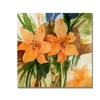 Sheila Golden Tigerlillies  Canvas Print