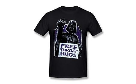 Monkeyz Mens Star Wars Darth Vader Expressions Black T-shirt 8f298bce-4416-486b-bb57-4168bf70c0a9