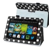 Insten Black White Dot Stand Leather Case For Kindle Fire HD 7 2013
