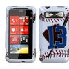 Insten Baseball Phone Case for HTC: Trophy