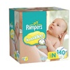 Pampers Swaddlers Diapers ( 140 Count )
