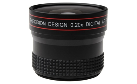 Precision Design 0.20x HD High Definition Fisheye Lens