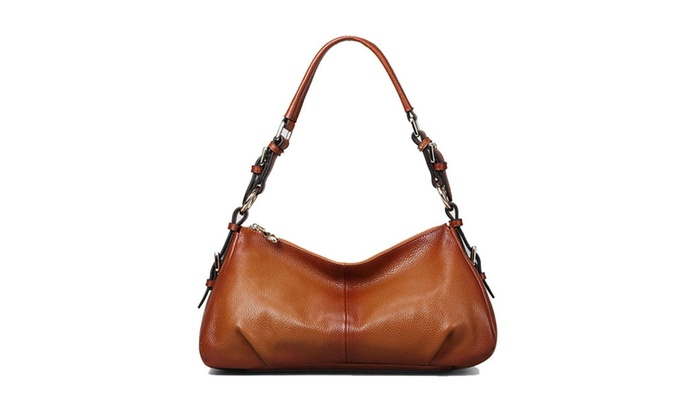 Women's Vintage Leather Hobo Shoulder Handbag