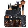 Zodaca 12pcs Makeup Powder Foundation Eyeshadow Eyeliner kit Case Bag