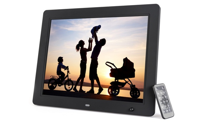 Photomate 15 Inch Digital Picture Frame With Motion Sensor Groupon