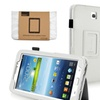 Insten White Leather Cover for Samsung Galaxy Tab 3 7.0 P3200 P3210