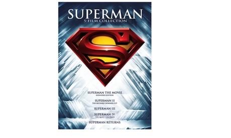 Superman 5 Film Collection (DVD) 494537d4-500f-4816-b33c-b77d79b71c2f