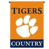 BSI Products 83225 Ncaa Clemson Tigers 2-Sided Country Garden Flag