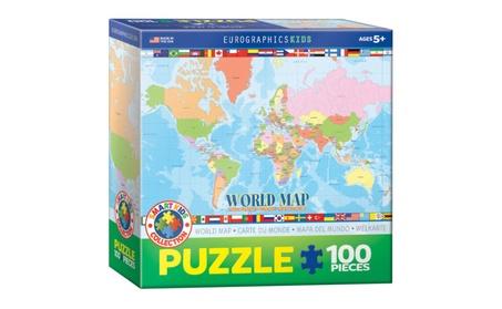 EuroGraphics Puzzles World Map de94cf30-34dc-4d7b-a2fd-dcc33ceb5319