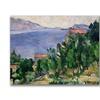 Paul Cezanne View of Mount Marseilleveyre Canvas Print