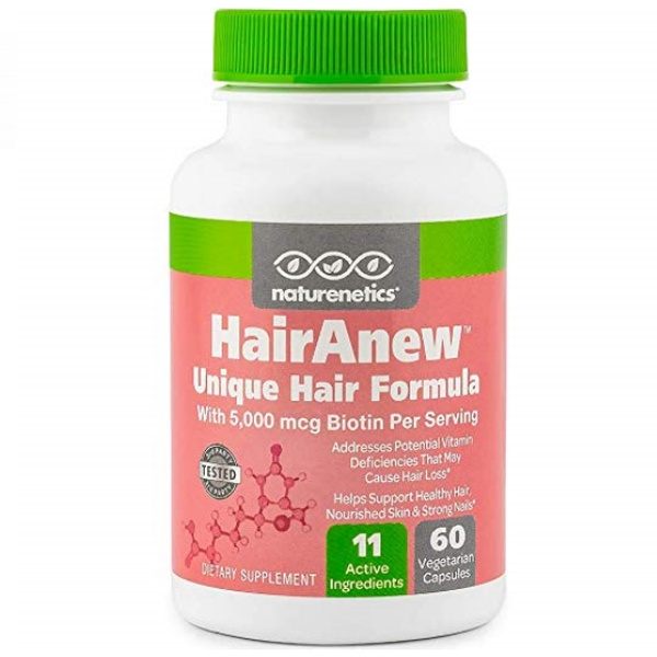 Hair Growth Vitamins >> Hairanew Unique Hair Growth Vitamins With Biotin