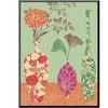 Floral Vase and Bowl Arrangement in Patterns, No.3