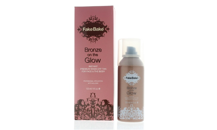 FakeBake-Bronze On The Glow Instant Premium Wash-Off Tan  5320a59c9