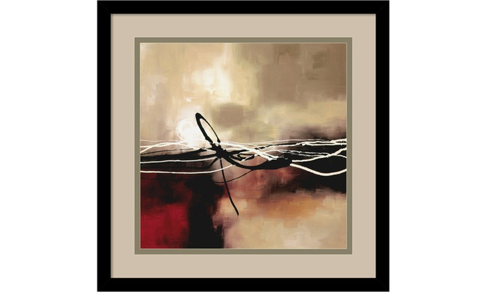 Laurie Maitland Symphony In Red Amp Khaki Ii Framed Art