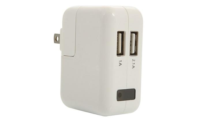 1080P HD Power Outlet Plug Hidden Spy Camera White US Standard Plug ...