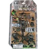 Click N' Play Military Marine Action Figure 23 Piece Accessory Play Set