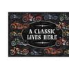 River's Edge A Classic Motorcycle Door Mat