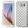 Insten Hard Diamante Case For Samsung Galaxy S6 Silver