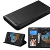 Insten Flip Leather Fabric Case stand For Alcatel One Touch Fierce XL