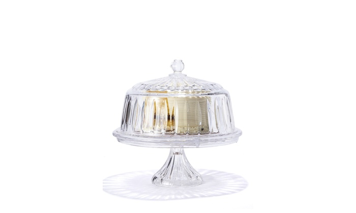 GODINGER Stratford 4-in-1 Cake Plate ...  sc 1 st  Groupon : 4 in 1 cake plate - pezcame.com