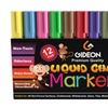 Gideon Premium Art Quality Liquid Chalk Pen Markers 12 Pack 6mm