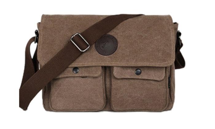 Men's Vintage Shoulder Postman Bag