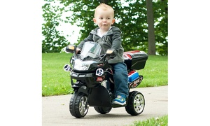 3 Wheel Motorcycle Trike for Kids Battery Powered Ride on Toy for Boys and Girls