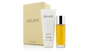 Calvin Klein Escape 2 Piece Gift Set For Women