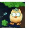 Sylvia Masek Owl Canvas Print