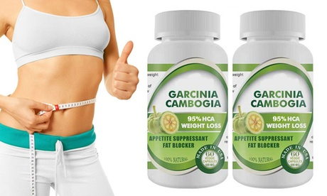 Pure Garcinia Cambogia Extract Maximum 95% HCA - 2 Bottles