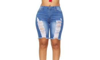 YDX Smart Jeans Summer Denim Shorts