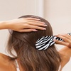 Zebra Print Detangling Travel Brush Set of 2