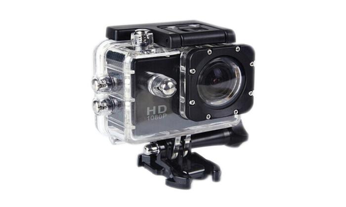 1080p Full HD DVR Waterproof Sport Video Camera | Groupon
