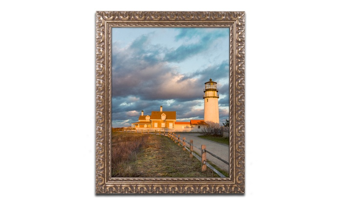 Groupon Goods: Michael Blanchette Photography 'Windy Point' Ornate Framed Art
