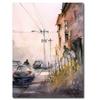 Ryan Radke Old Wautoma Hotel Canvas Print