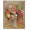Pierre Renoir 'Roses in a Sevres vase' Canvas Rolled Art