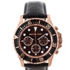 Michael Kors Men's 'Everest' Leather Strap Chronograph Watch