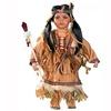 "Cherish Crafts 16"" Porcelain Native American Doll 'Atepa'"