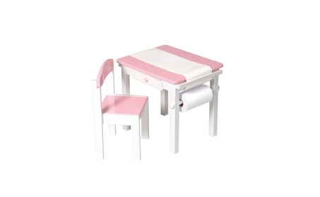 Guidecraft™ Art Table & Chair Set -Pink G98048 7415a02b-7299-4368-9a56-c17ffef13d00