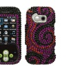 Insten Black Swan Diamante Case for LG: GT365 (Neon)