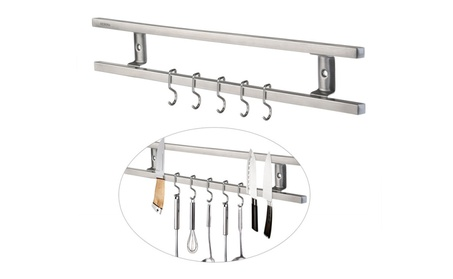 Magnetic Knife Holder with Hooks 0640c85a-9199-4ab6-8553-749ab6cb638b