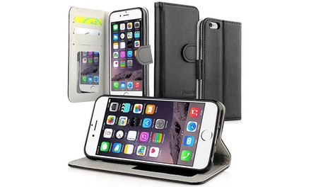 www iphone 7 insten black wallet id credit card holder cover 13329