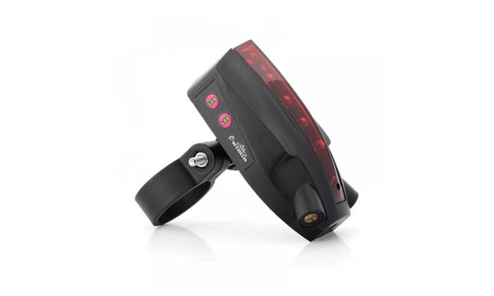Intelligent Led Bicycle Laser Taillight Bike Warning Brake Version